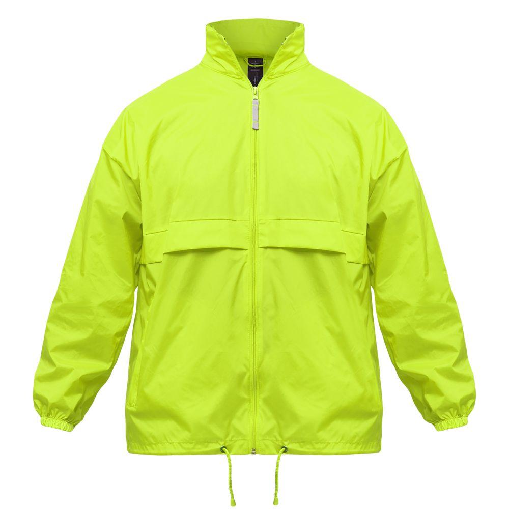 Ветровка Sirocco неоново-желтая, размер XL фото
