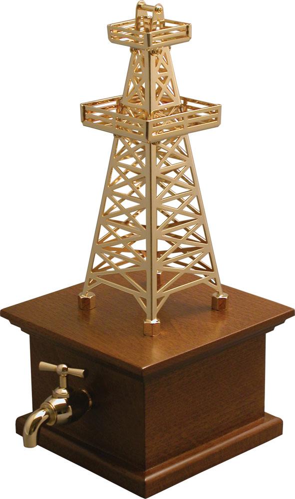 Сувенир «Нефтяная вышка. Воплощение мечты» фото