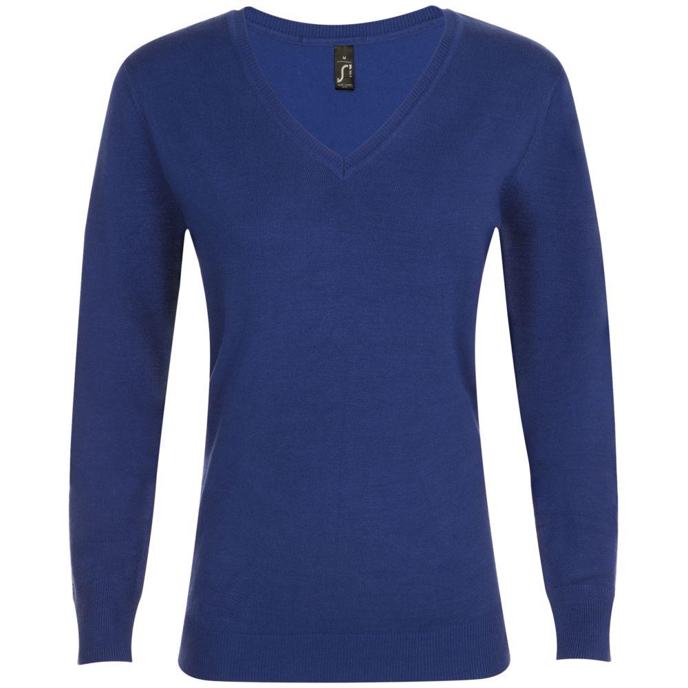 Фото - Пуловер женский GLORY WOMEN синий ультрамарин, размер S пуловер laredoute крупной вязки s синий