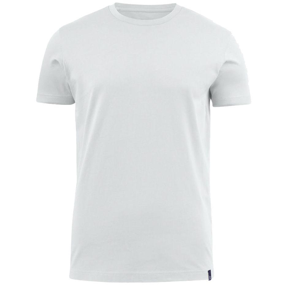 Футболка мужская AMERICAN U белая, размер XXL футболка мужская diesel цвет белый 00spvz 0caky 100 размер xxl 54