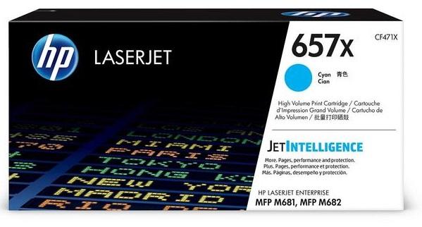 Картридж HP 657X LaserJet (CF471X) картридж hp cf471x 657x для hp clj mfp m681 m682 голубой 23 000 страниц