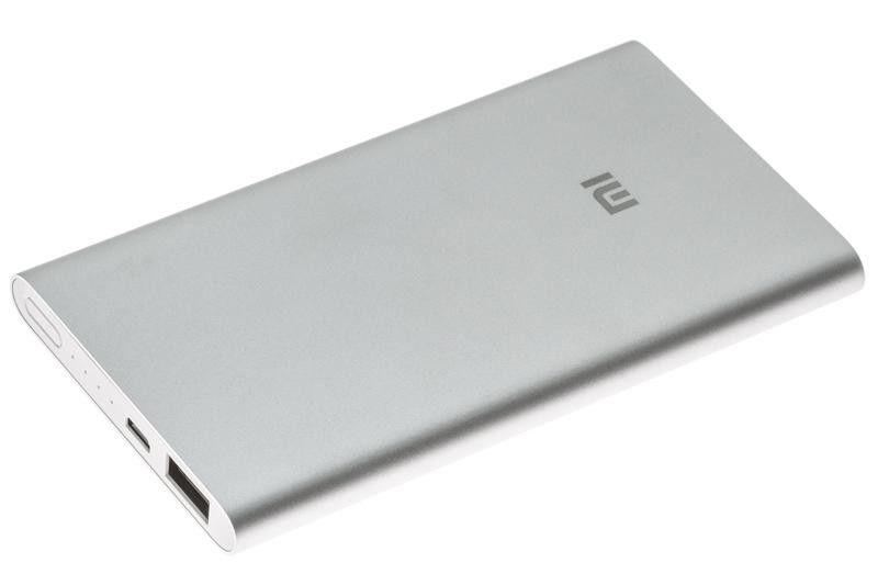 Фото - Внешний аккумулятор Mi Powerbank 2, 5000 мАч, серебристый аккумулятор
