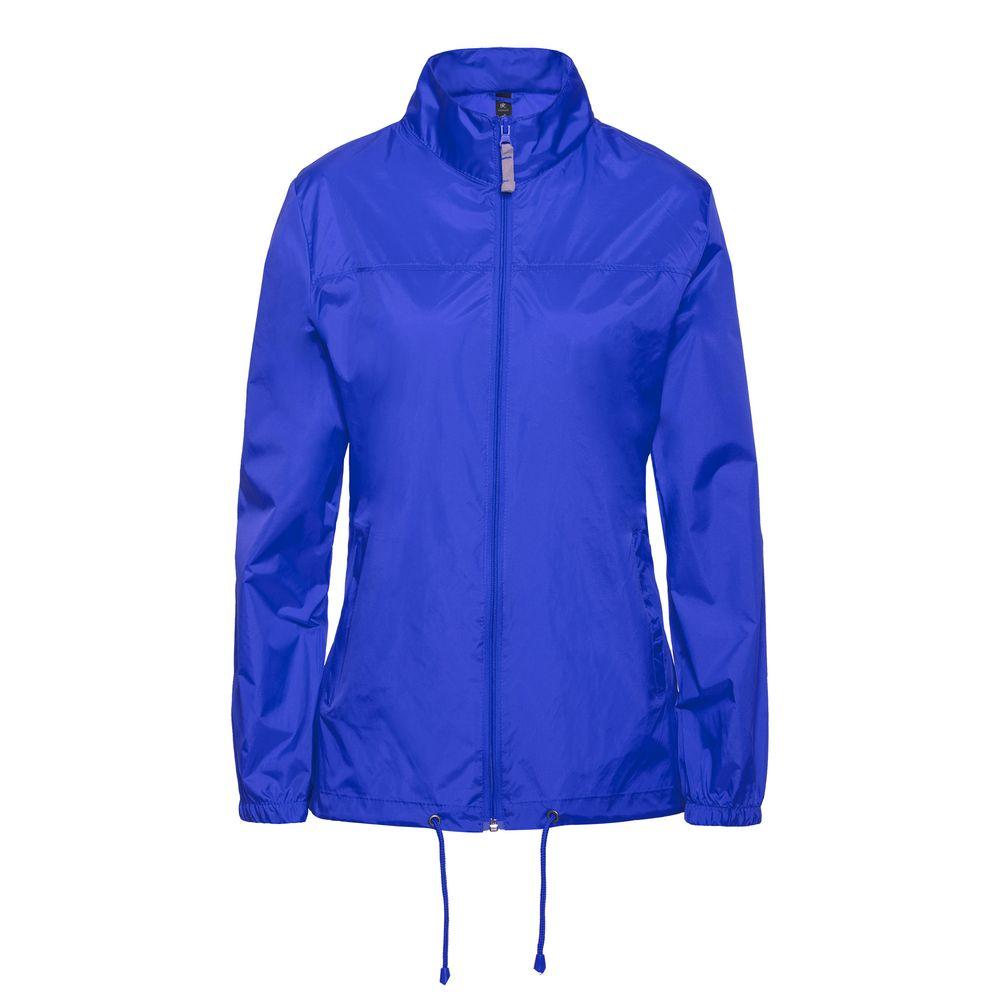 Фото - Ветровка женская Sirocco ярко-синяя, размер M ветровка sirocco ярко синяя размер s
