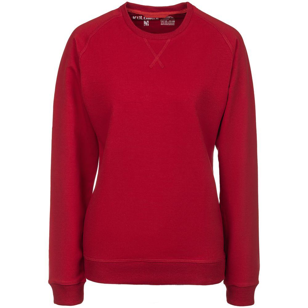 Свитшот женский Kulonga Sweat красный, размер XL свитшот женский oodji collection цвет белый синий болотный 24801010 12 42316 3070f размер xl 50
