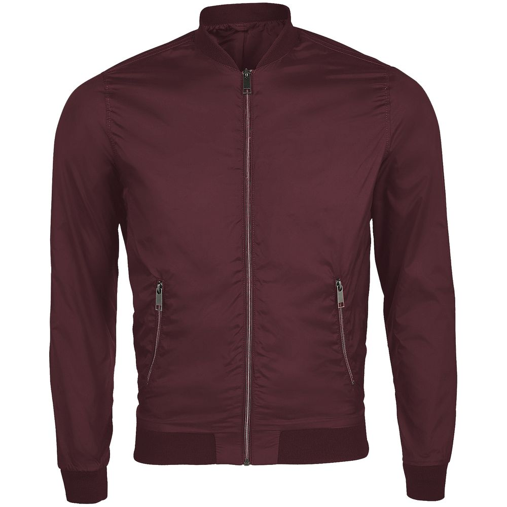 Куртка унисекс ROSCOE бордовая, размер S куртка унисекс roscoe бордовая размер xxl