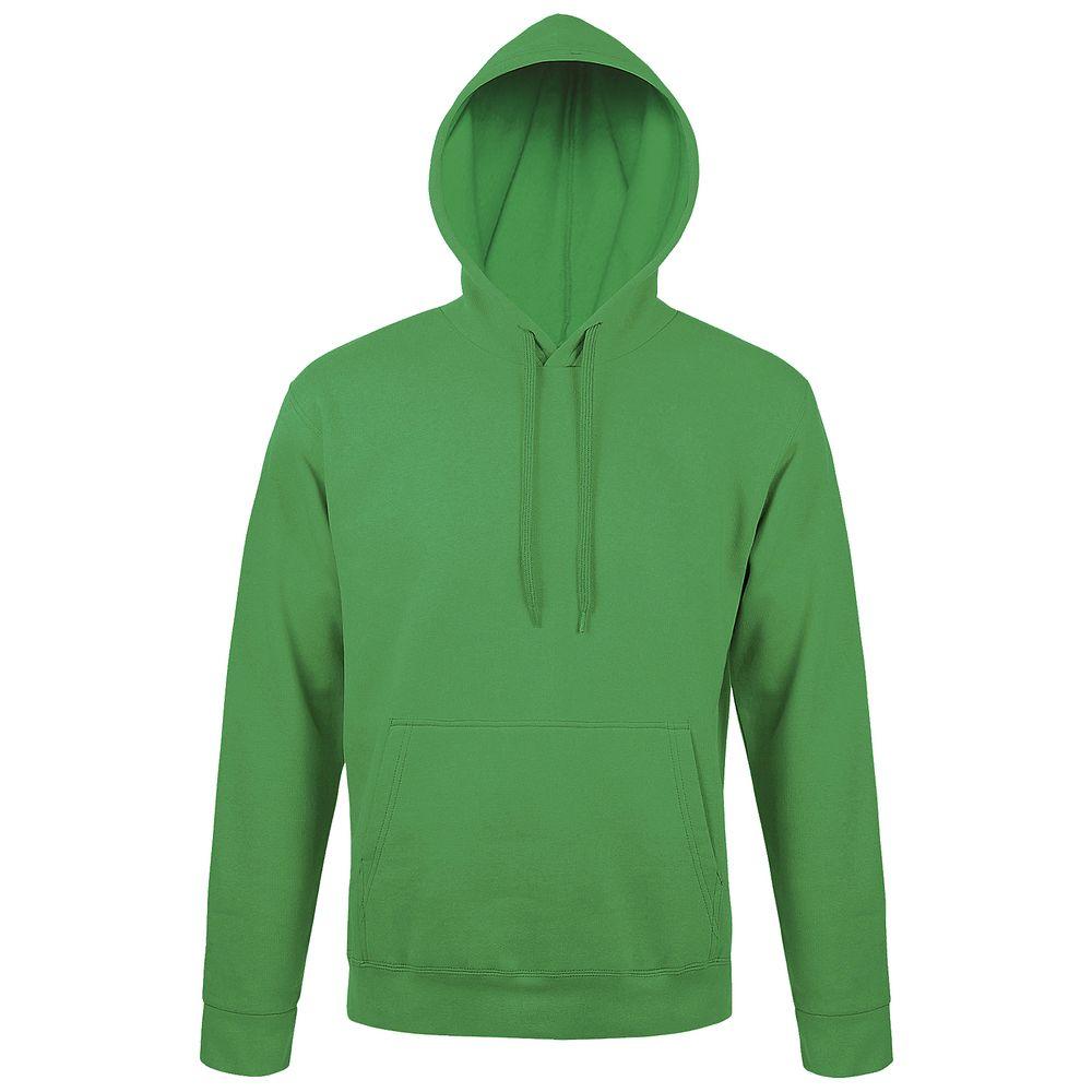 Толстовка с капюшоном SNAKE II ярко-зеленая, размер M фото
