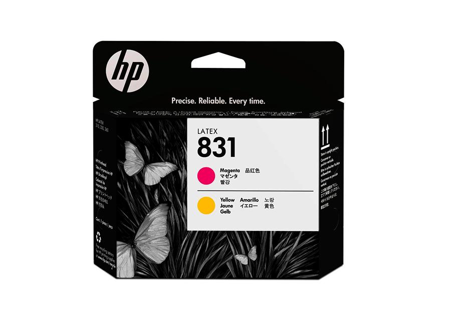 Печатающая головка HP Printhead 831 Magenta/Yellow (CZ678A) печатающая головка hp printhead 85 magenta c9421a