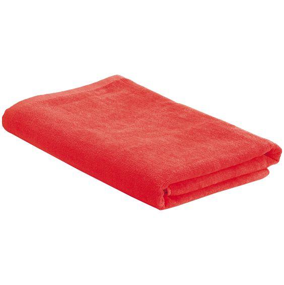 Пляжное полотенце в сумке SoaKing, красное sanli колористы полотенце в кофейном цвете дефолт