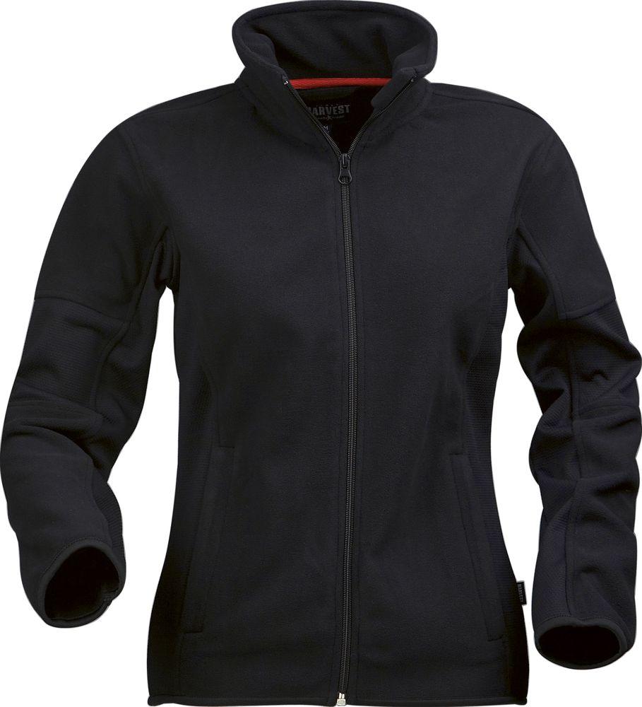 Куртка флисовая женская SARASOTA, черная, размер XL