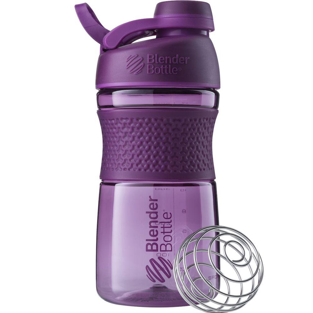 Спортивный шейкер SportMixer Twist Cap, фиолетовый (сливовый) цена и фото