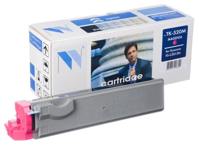 Картридж NV Print TK-520M фото