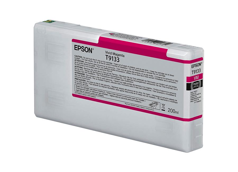 T9133 Vivid magenta 200 мл (C13T913300) colorwave300 magenta 350 мл 5834b007