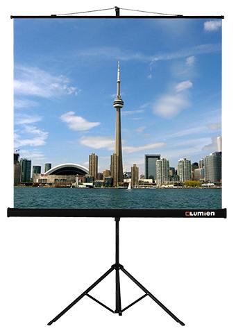 Lumien Eco View 160x160 MW (LEV-100105) [lev 100105] экран на штативе lumien eco view 160x160 см matte white с возможностью настенного крепления 1 1