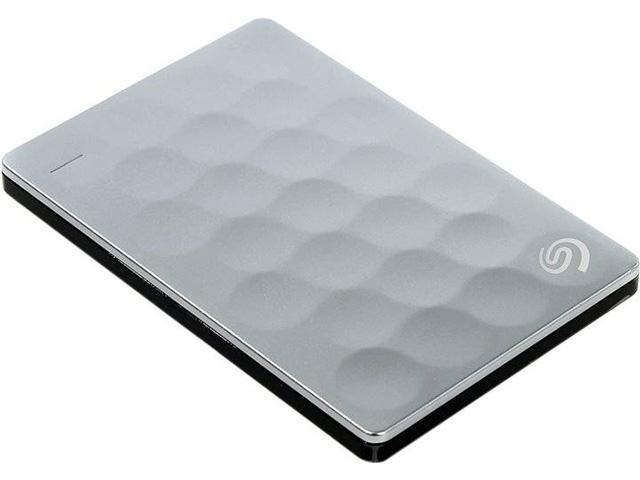 Внешний жесткий диск Backup Plus Ultra Slim 1 ТБ (STEH1000200), серебристый цены