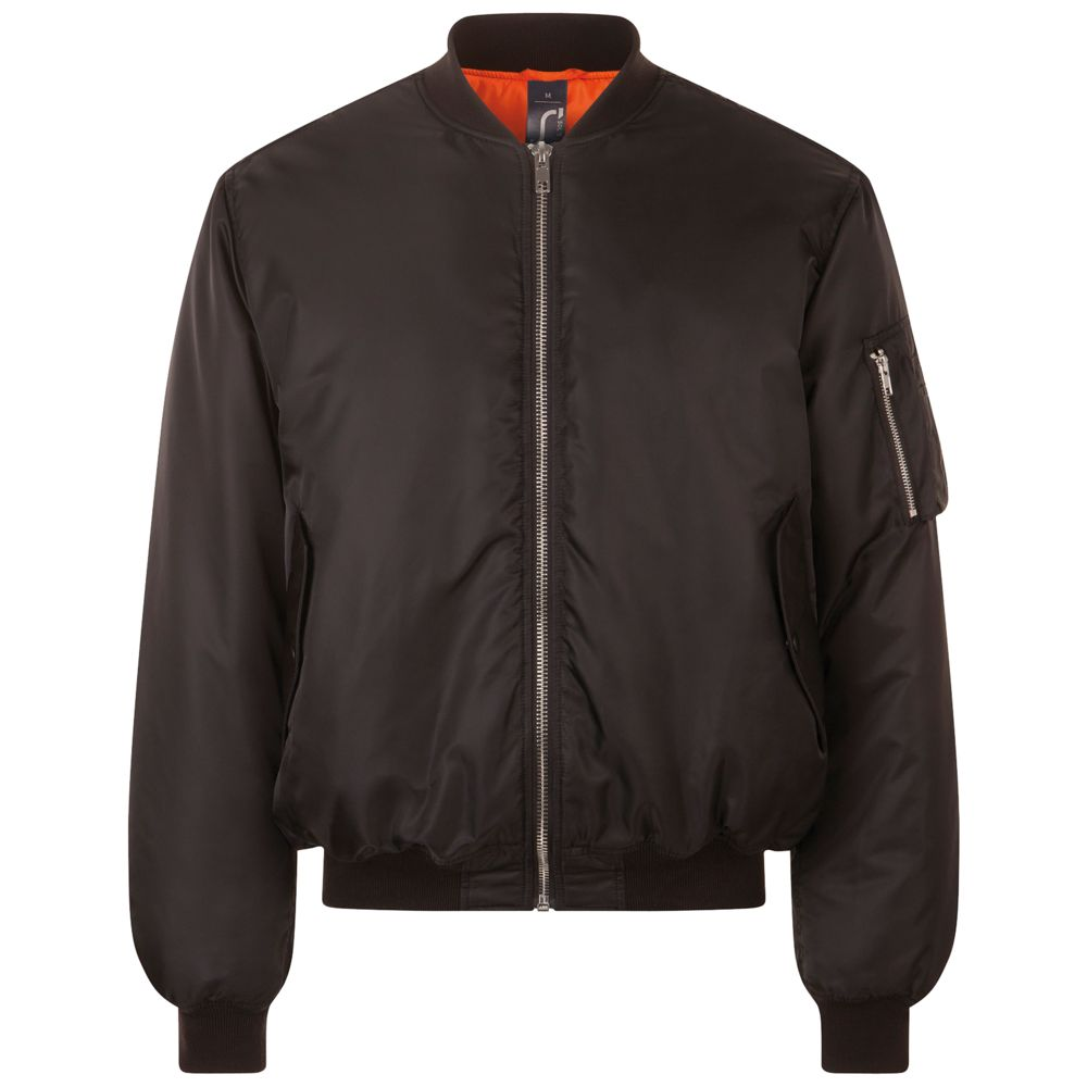 Куртка бомбер унисекс REMINGTON черная, размер XXL куртка бомбер унисекс rebel черная размер xl