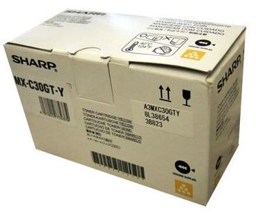 Тонер-картридж MX-C30GTY тонер картридж sharp mx23gtya для mx 1810 2010 2310 3111 yellow