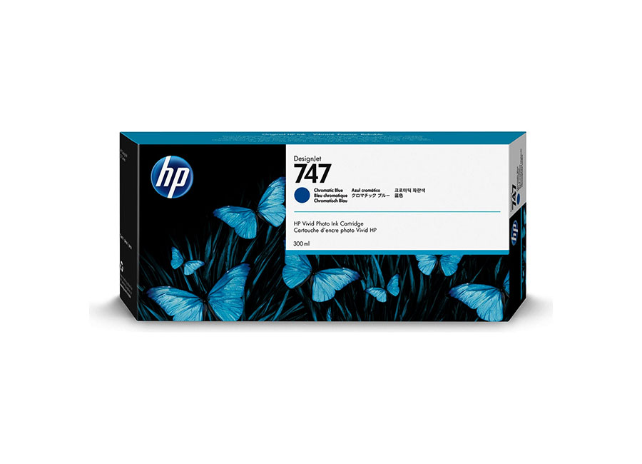 HP 747 DesignJet Chromatic blue 300 мл (P2V85A) hot sales 80 printhead for hp80 print head hp for designjet 1000 1000plus 1050 1055 printer