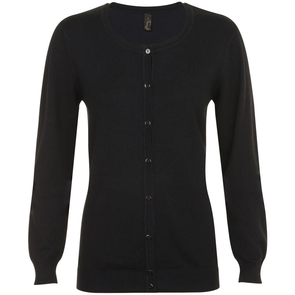 Кардиган женский GRIFFIN черный, размер XL цена 2017