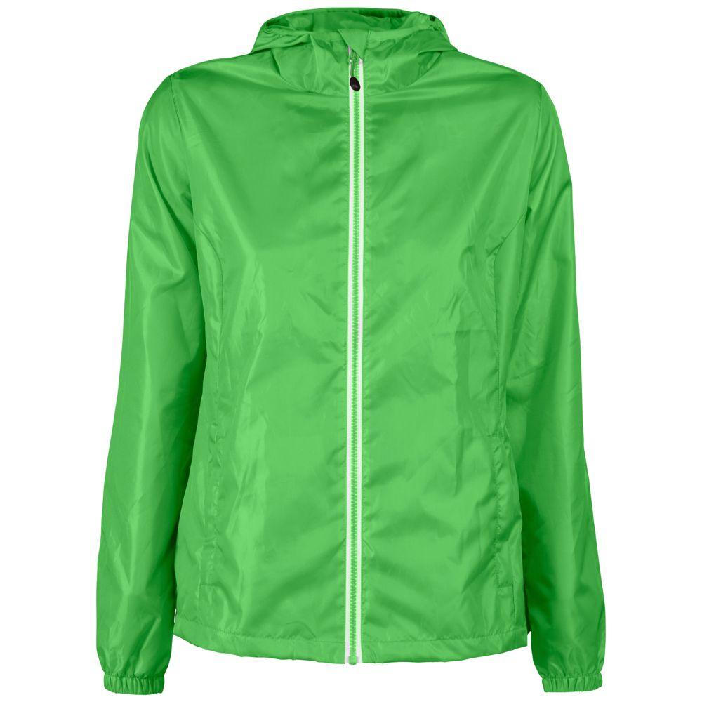 Ветровка женская FASTPLANT зеленое яблоко, размер XXL