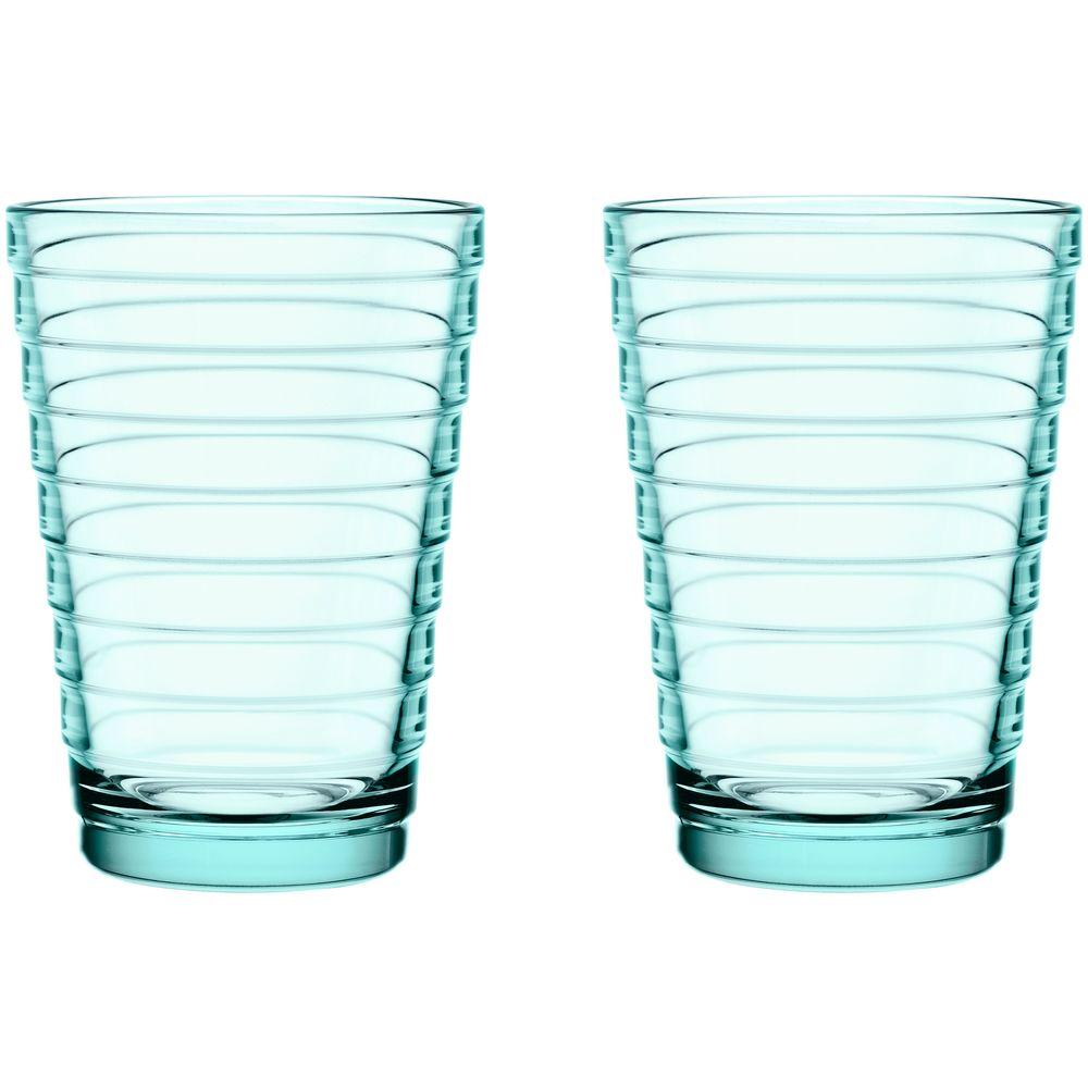 Набор больших стаканов Aino Aalto, бирюзовый недорого