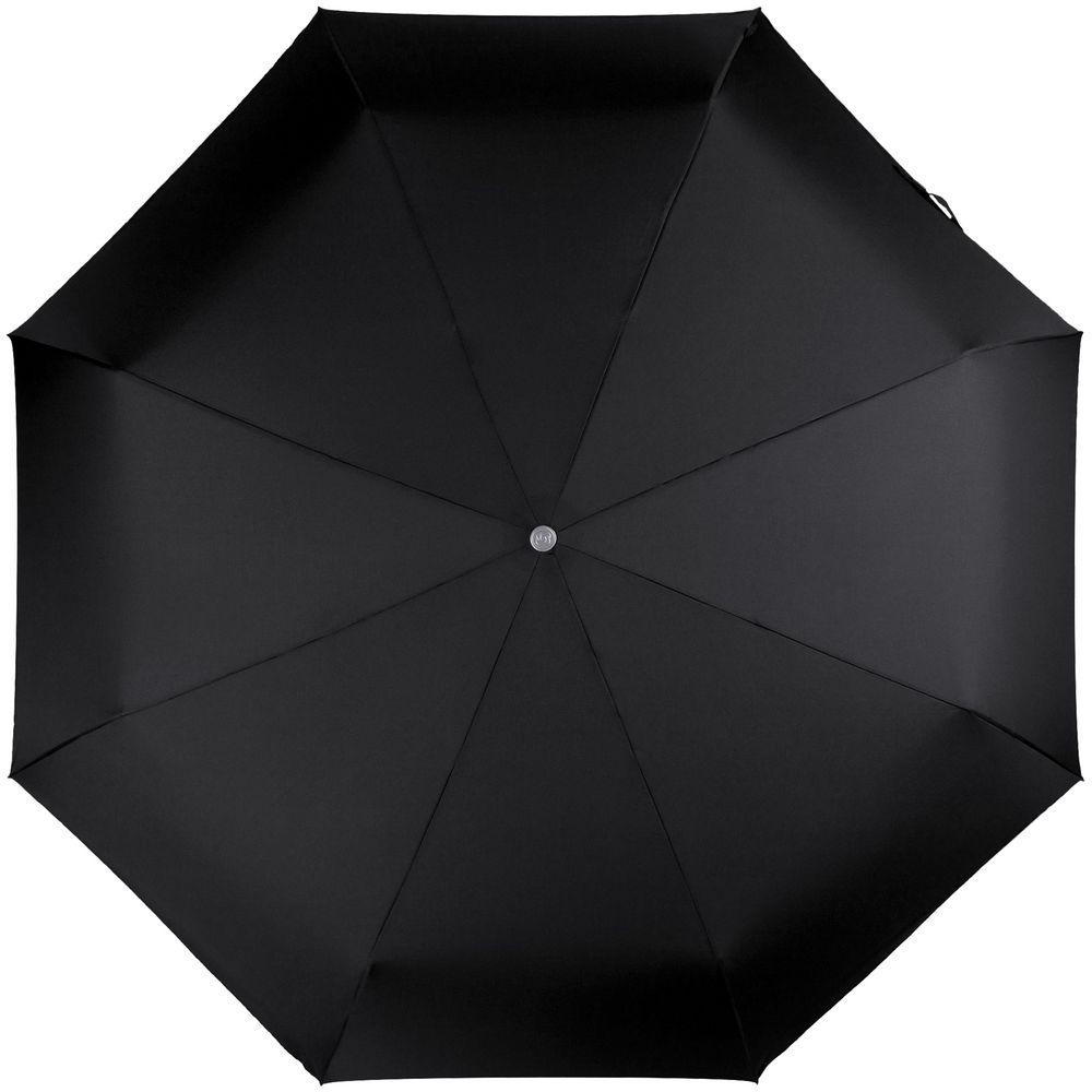 Складной зонт Alu Drop S Golf, 3 сложения, автомат, черный