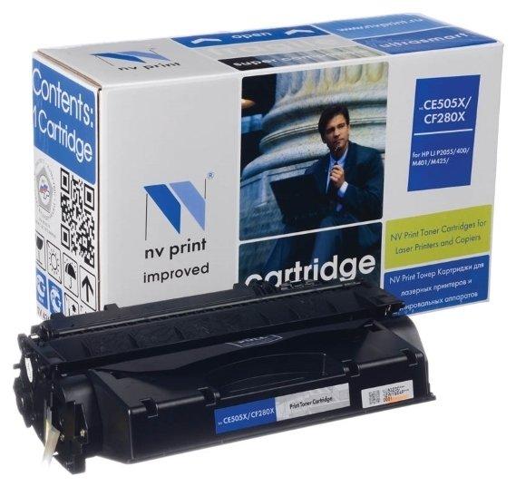 Фото - Картридж NV Print NV-CF280X/CE505X пульт ду gwire 95001 eltex для iptv медиацентров eltex nv 100 nv 102 nv 300 nv 310 wac nv 501 wac черный