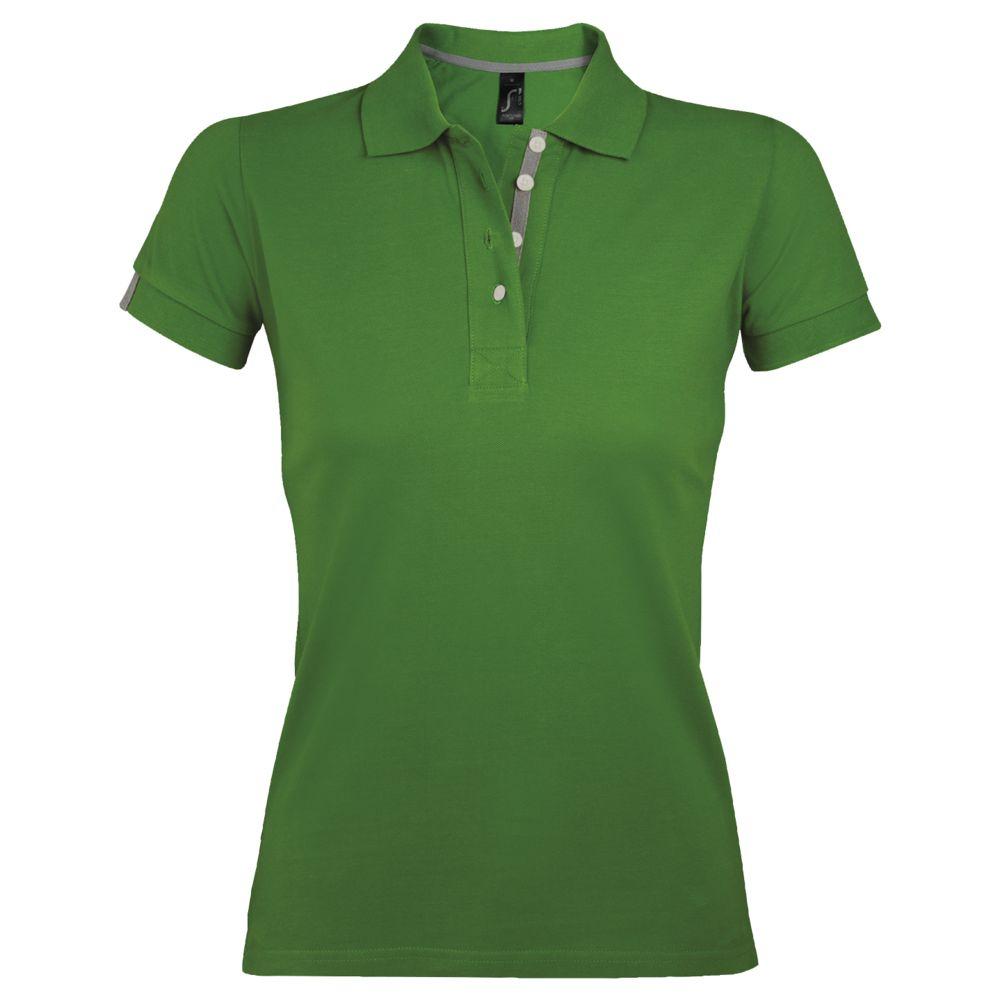 Рубашка поло женская PORTLAND WOMEN 200 зеленая, размер XXL фото