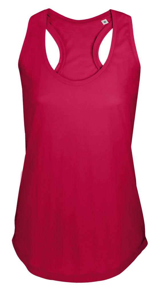 цена Майка женская MOKA 110, красная, размер L онлайн в 2017 году