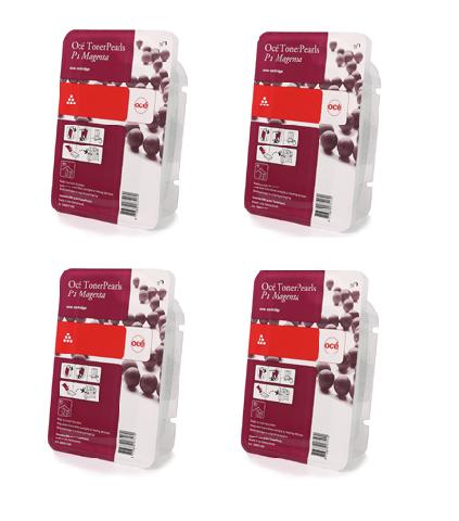 цена Набор картриджей ColorWave 700 Magenta 4x500 гр (39807003) онлайн в 2017 году