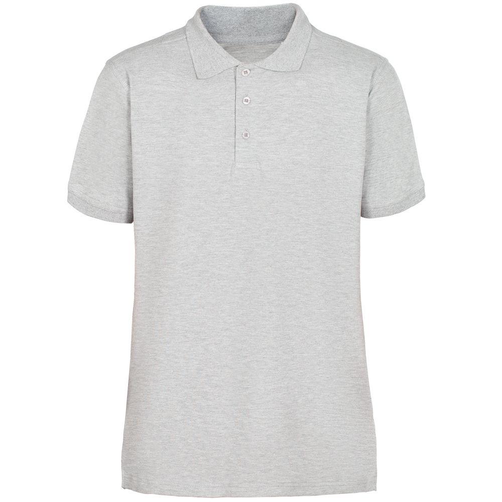 Рубашка поло мужская Virma Stretch, серый меланж, размер S