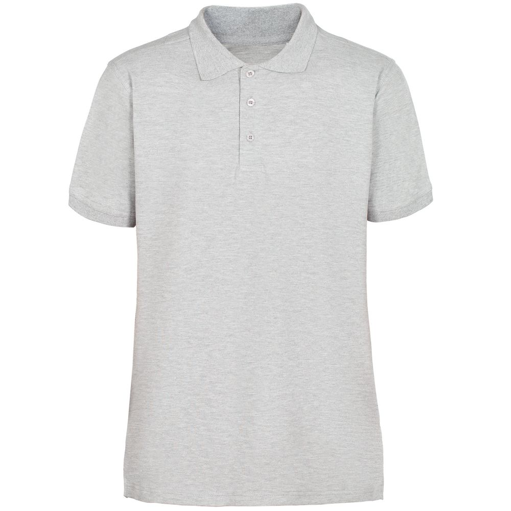 Рубашка поло мужская Virma Stretch, серый меланж, размер S фото