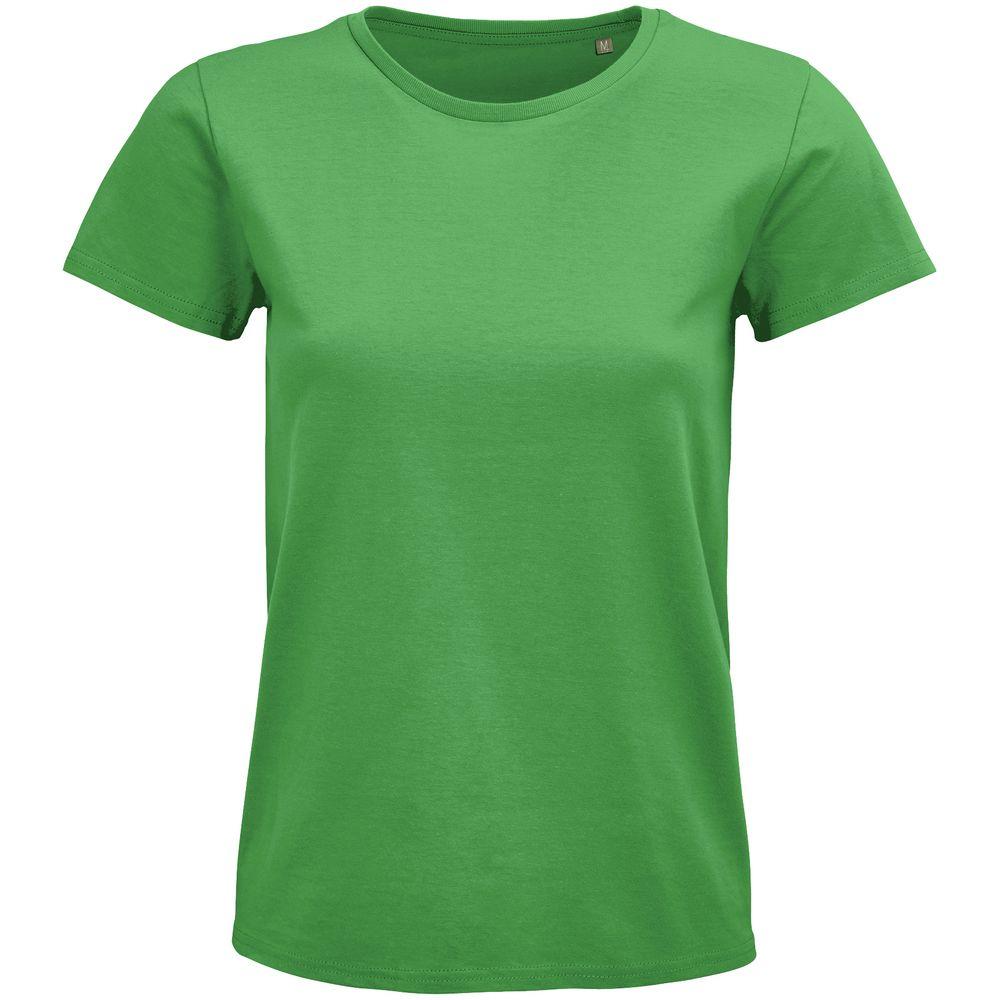 Футболка женская Pioneer Women, ярко-зеленая, размер S футболка женская pioneer women оранжевая размер s