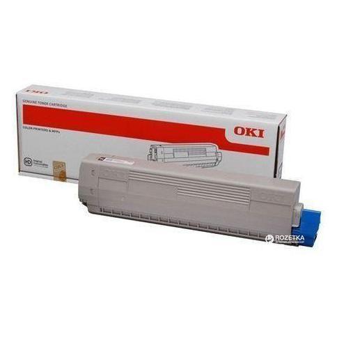 Тонер-картридж Toner-K 7K C823/C833/C843 (46471108) toner k c931 24k 45536416