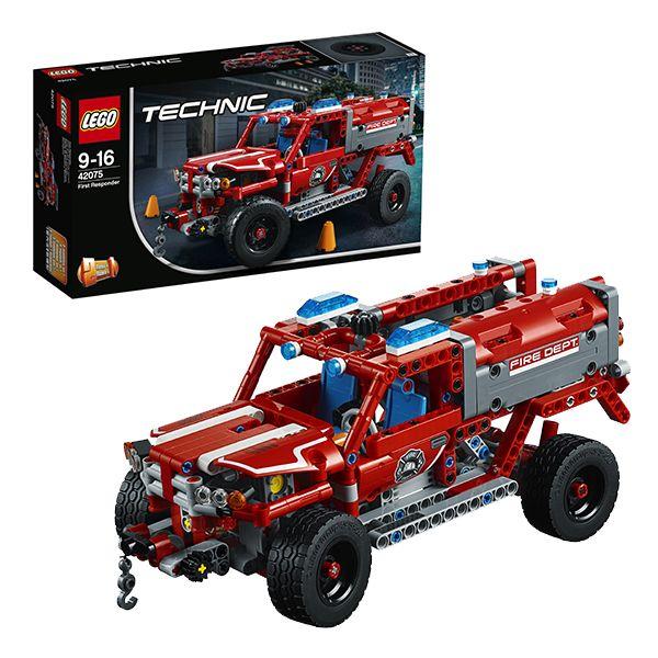 Конструктор «LEGO Technic. Служба быстрого реагирования» конструктор lego technic гоночный автомобиль 1005 элементов