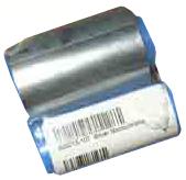 Фото - Монохромная серебряная лента Zebra 800015-107 ламинирующая лента zebra peel n stick 800015 035