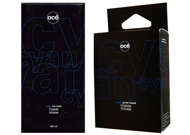 Печатающая головка и картридж для TCS500, Cyan (7518B001) цены онлайн