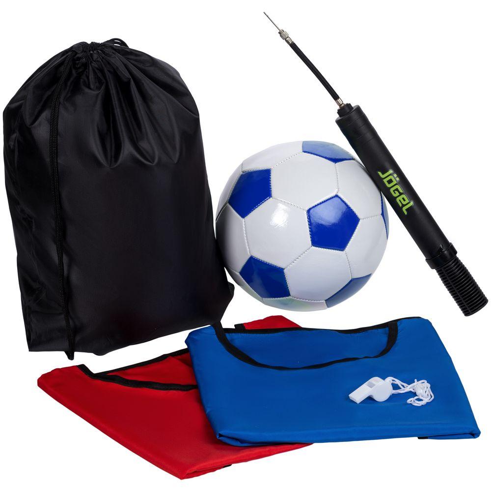 Набор для игры в футбол On The Field, с синим мячом, размер L