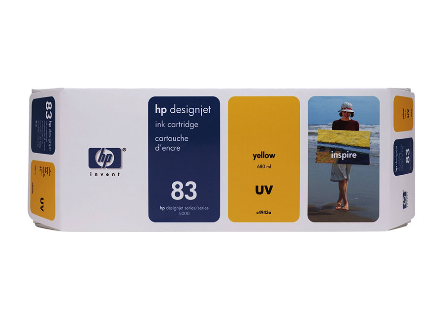 все цены на HP DesignJet 83 Yellow 680 мл (C4943A) онлайн