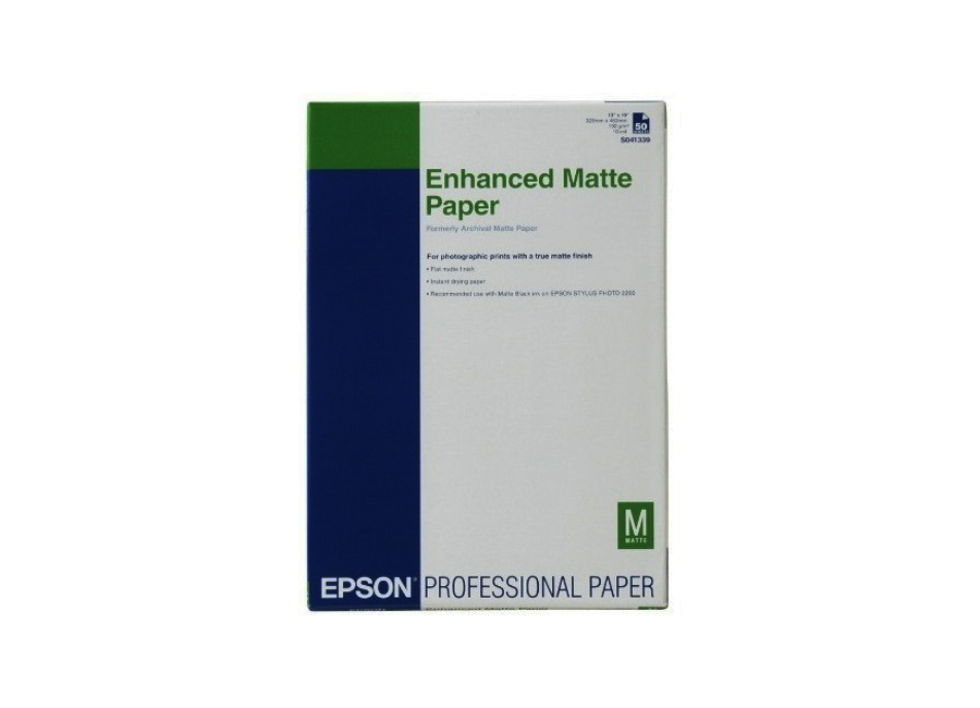 Epson Enhanced Matte Posterboard, A3+, 850 г/м2, 20 листов (C13S042110)