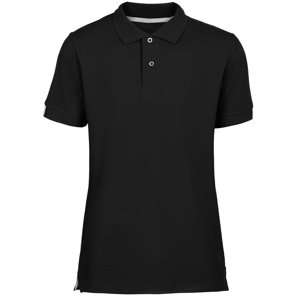 Рубашка поло мужская Virma Premium, черная, размер XXL фото