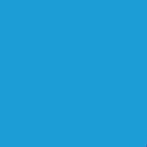Пленка для термопереноса на ткань Hotmark 70 синяя 408