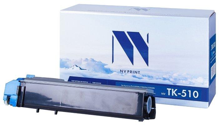 Фото - Картридж NV Print TK-510C картридж nv print tk 8315c для