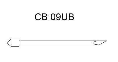 Фото - Нож CB 09UB для резки пленок (угол 45) для плоттеров Graphtec (оригинальный) graphtec csx530 09