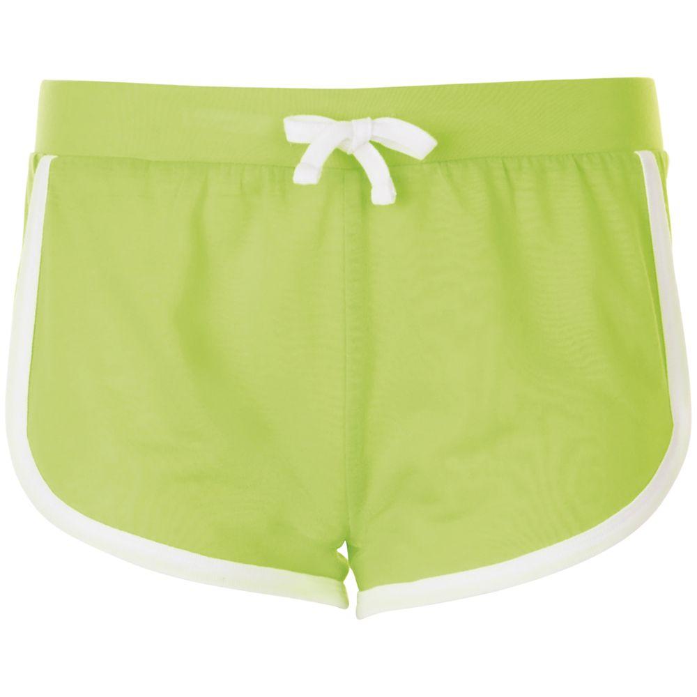 Шорты женские JANEIRO зеленый неон, размер M/L