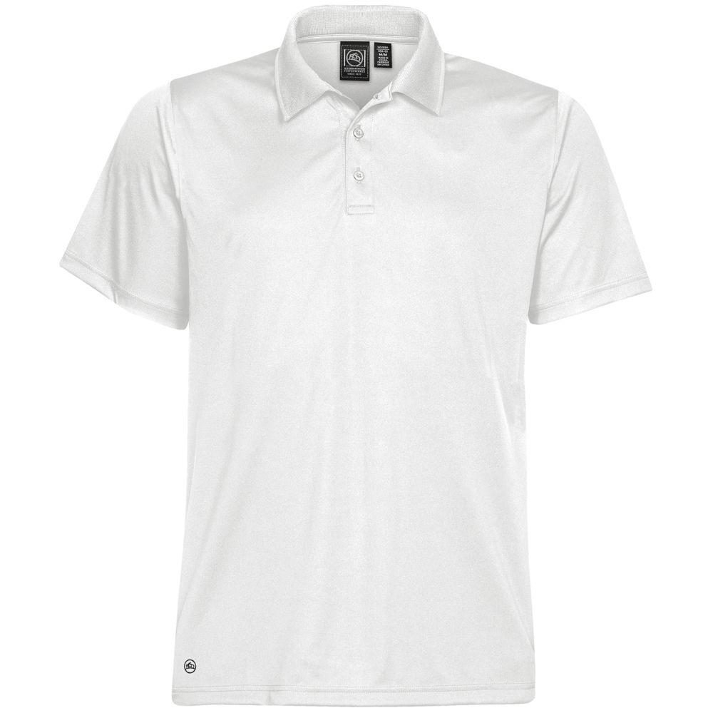 Рубашка поло мужская Eclipse H2X-Dry белая, размер S