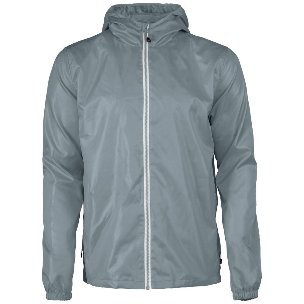 Ветровка мужская FASTPLANT серая, размер S ветровка мужская helly hansen crew hooded jacket цвет синий 33875 597 размер s 46