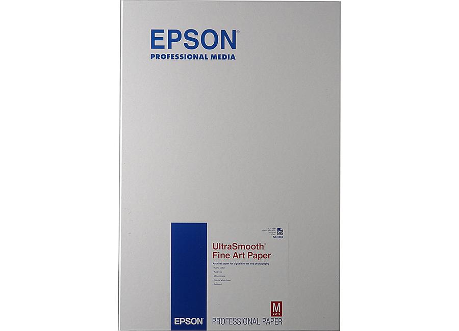Фото - Epson UltraSmooth Fine Art Paper, A3+, 325 г/м2, 25 листов (C13S041896) lomond fine grainy natural white fine art gallery а3 165 г м2 20 листов