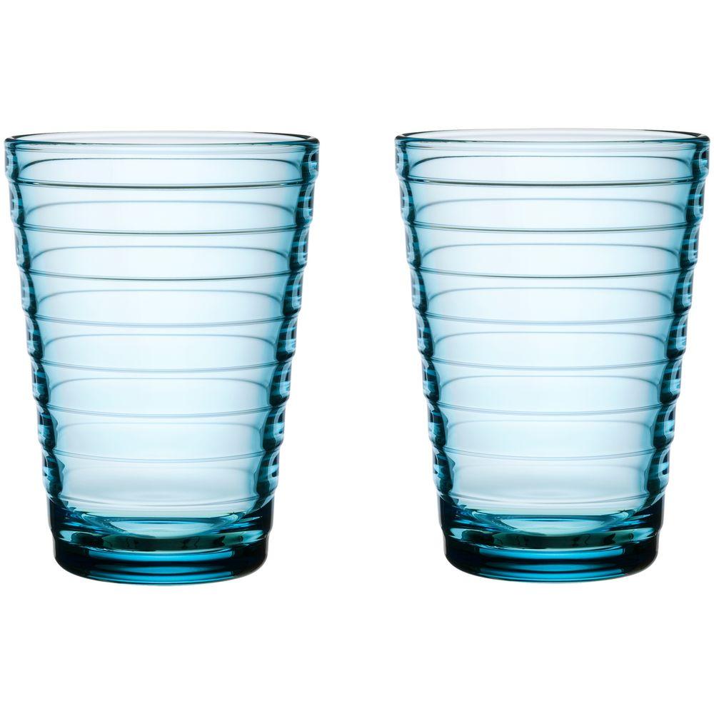 Набор больших стаканов Aino Aalto, голубой недорого
