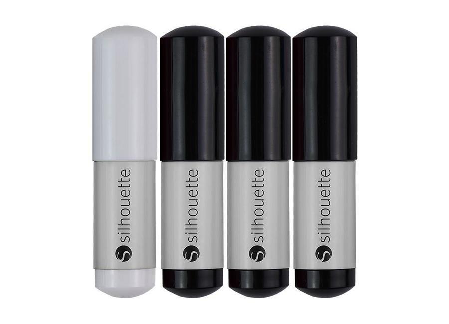 Фото - Набор ручек для плоттеров , черная, белая набор ручек для плоттеров 4 цвета глиттер
