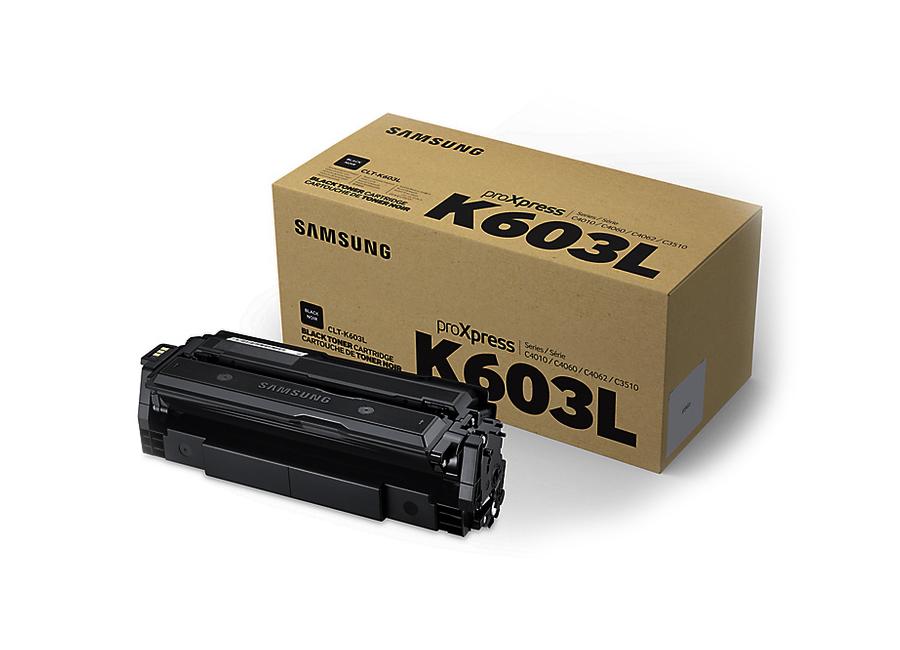 Фото - Тонер-картридж Samsung CLT-K603L (SV241A) тонер картридж samsung clt m606s see